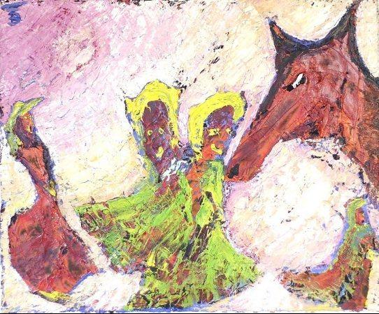Chante et danse avec le loup